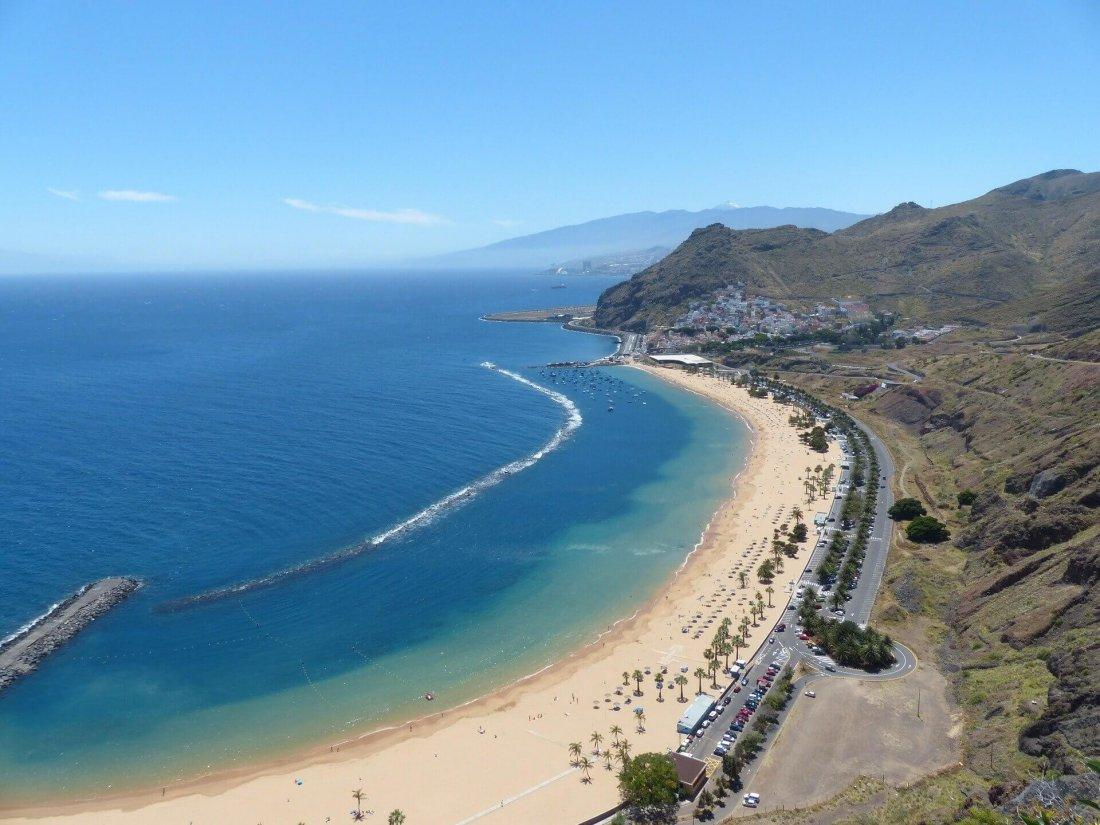 Playa de Las Teresitas in Tenerife