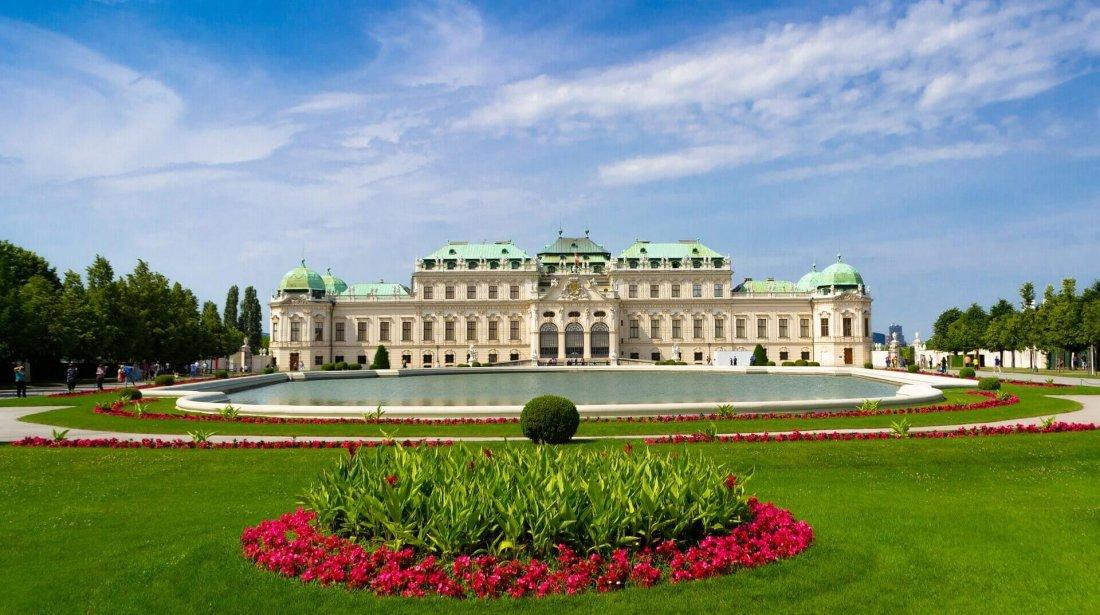 Belvedere Palace in Frankfurt
