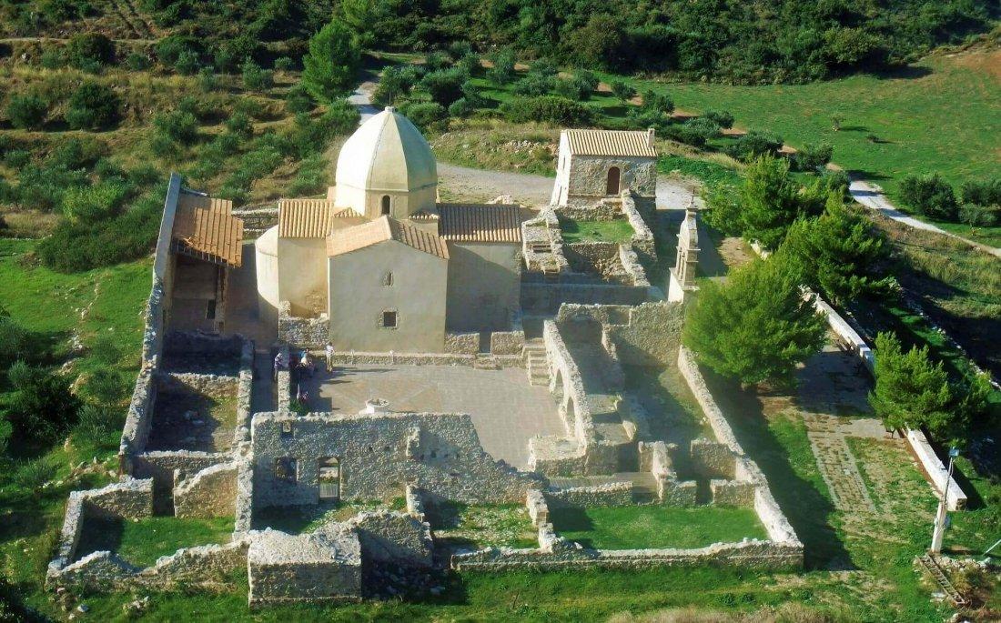Monastery of Panagia Skopiotissa in Zakynthos