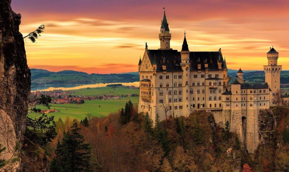 Neuschweinstein castle, Germany - a must-see on European bucket list