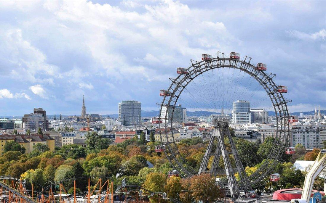 Giant Ferris Wheel in Prater