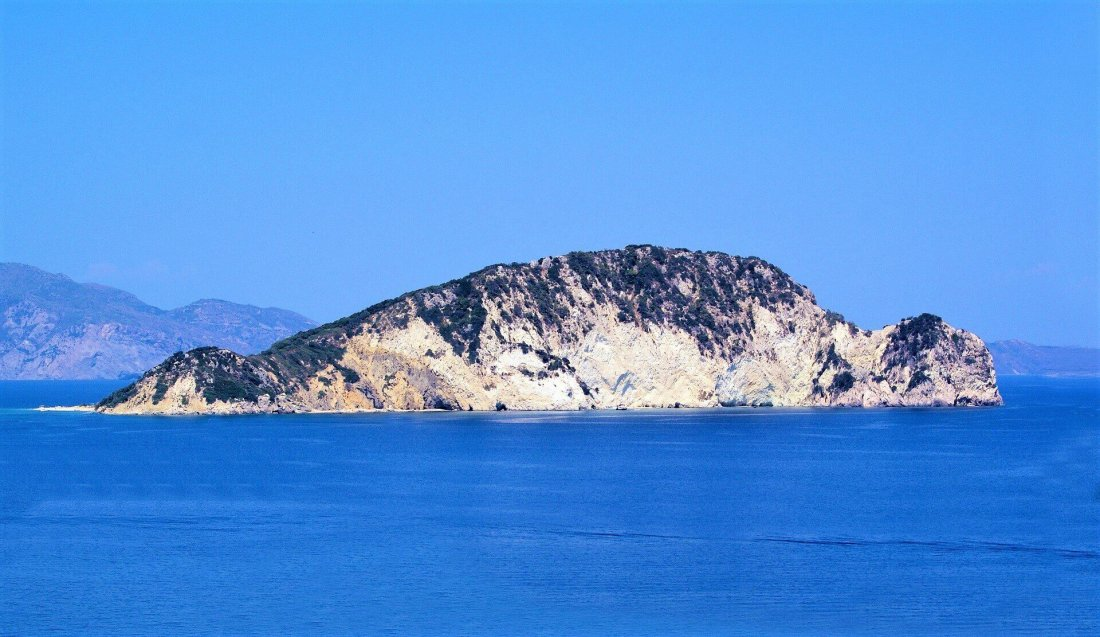 Marathonisi or Turtle Island