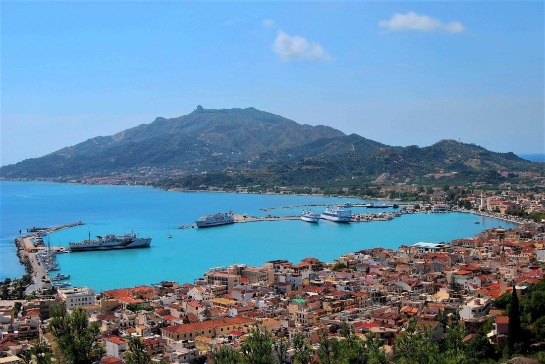 Zante Town - capital city of Zakynthos