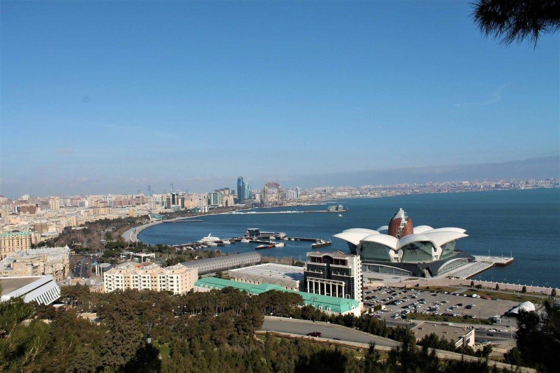 Baku in Azerbaijan - Europe