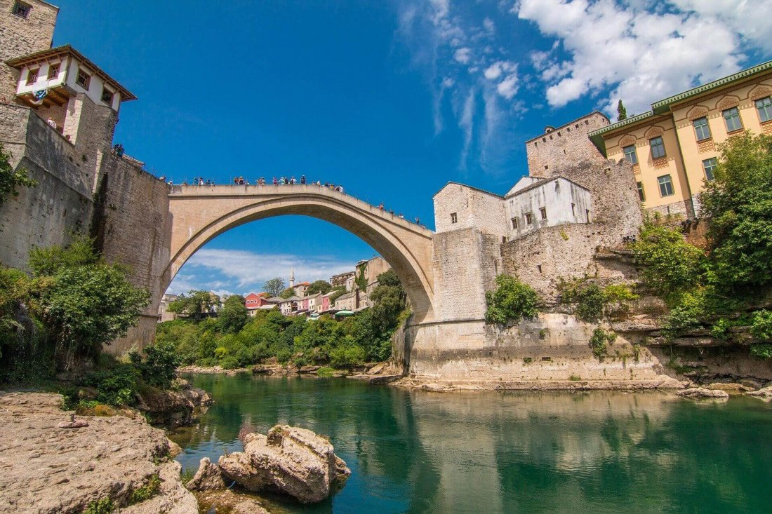 Mostar Bridge, Bosnia and Herzegovina, Europe