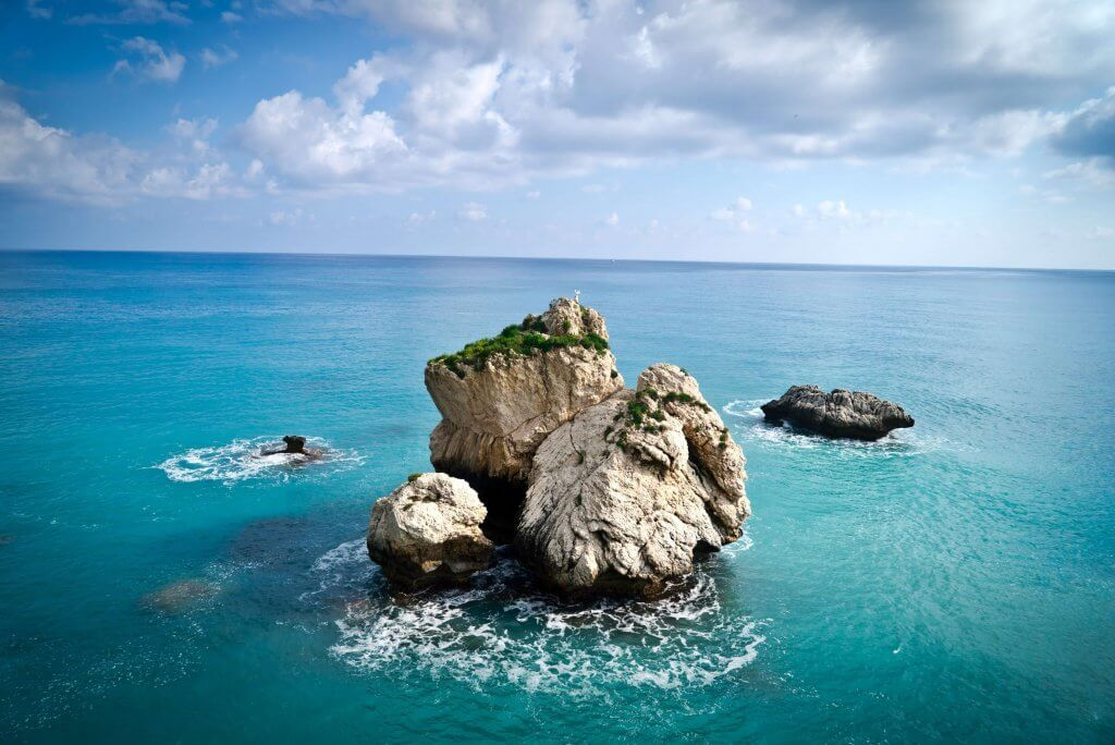Aphrodite's Rock in Cyprus, Europe
