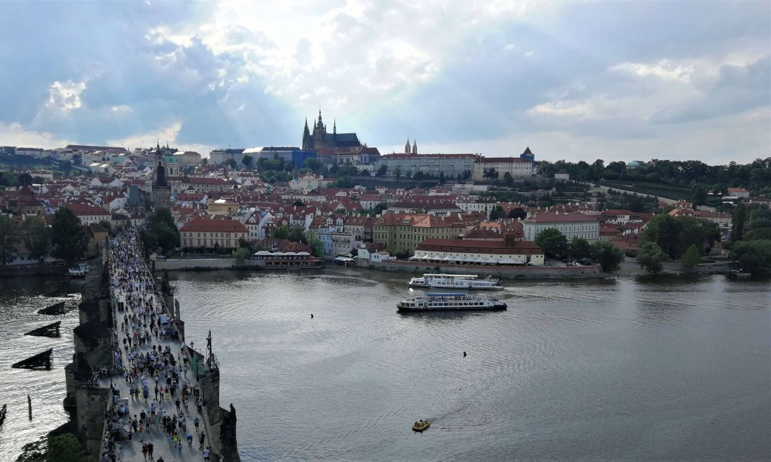 Charles Bridge in Prague, Czech Republic - a must-see on European bucket list