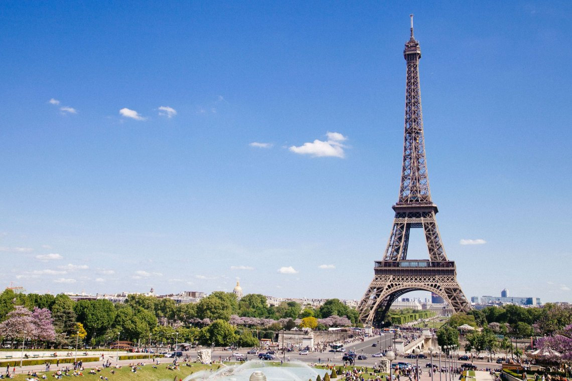 Eiffel Tower, Paris - a must-see on European bucket list
