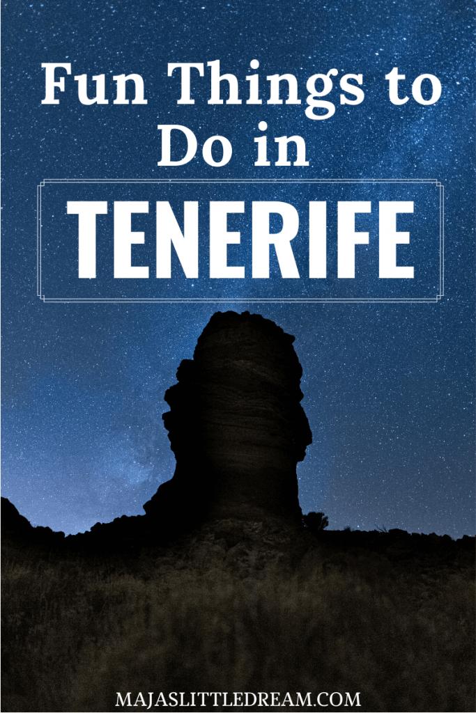 Fun Things to Do in Tenerife