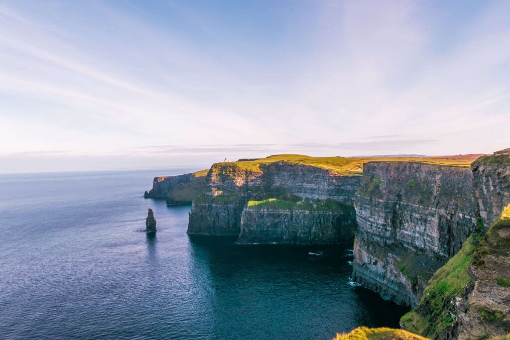Cliffs of Moher, Ireland - a must-see in European bucket list