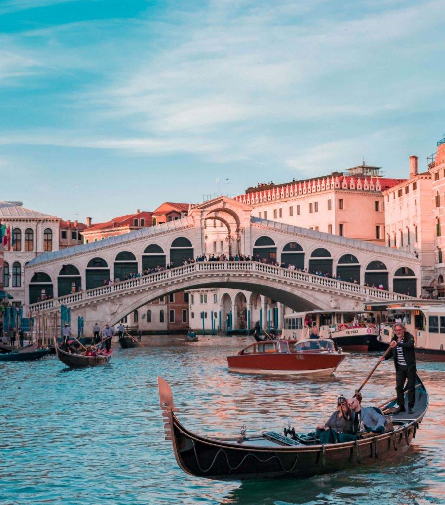 Venetian gondola, Italy - a must-see on European Bucket list