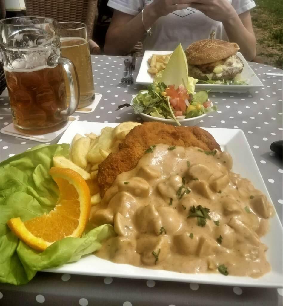 Lunch at Winzerhäuschen