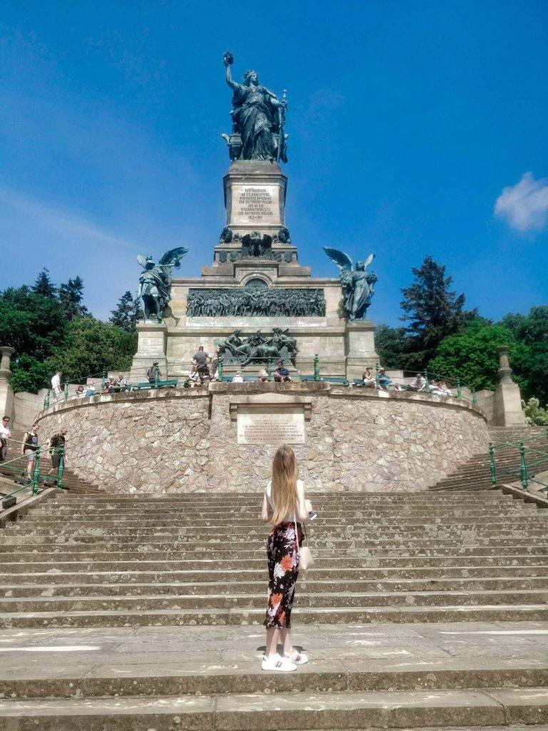 Niederwald monument, Rudesheim am Main