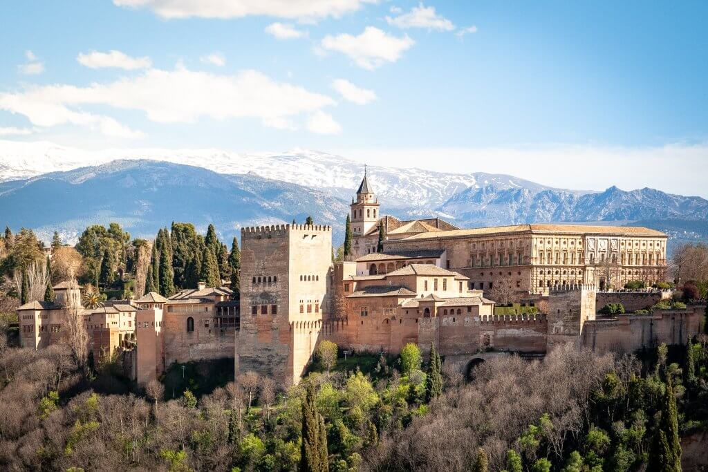 Alhambra, Granada - a must-see on European bucket list