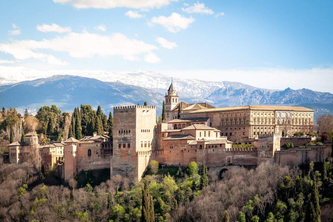 Alhambra, Granada - a must-see on European bucket list