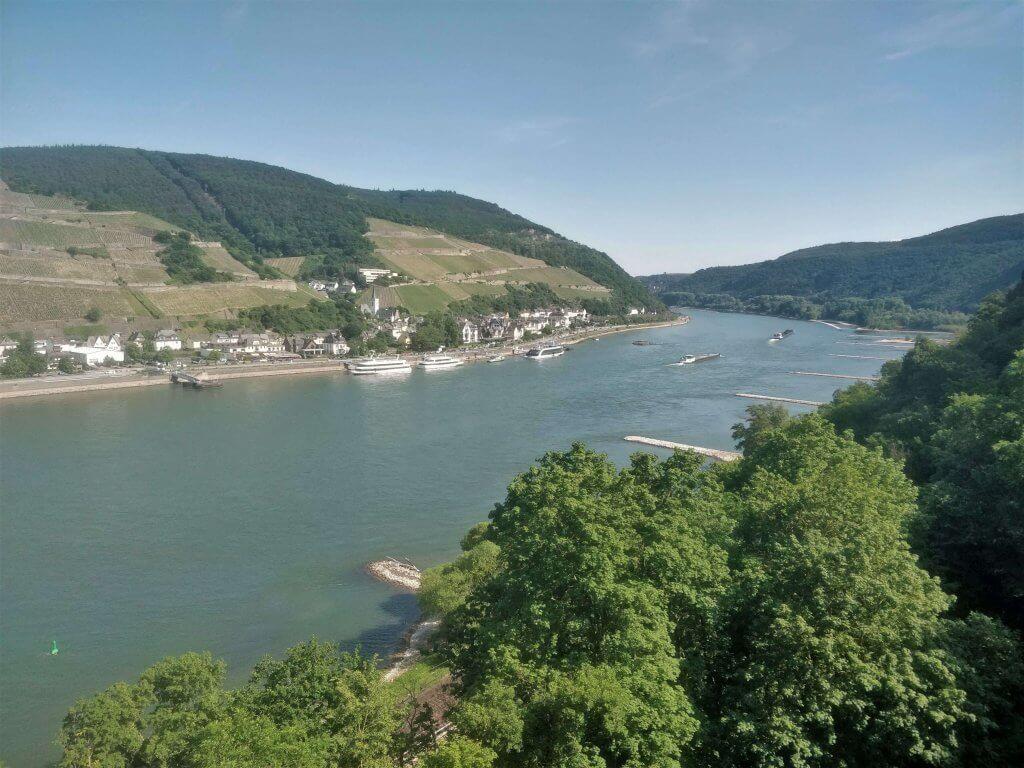 View from Rheinstein Castle