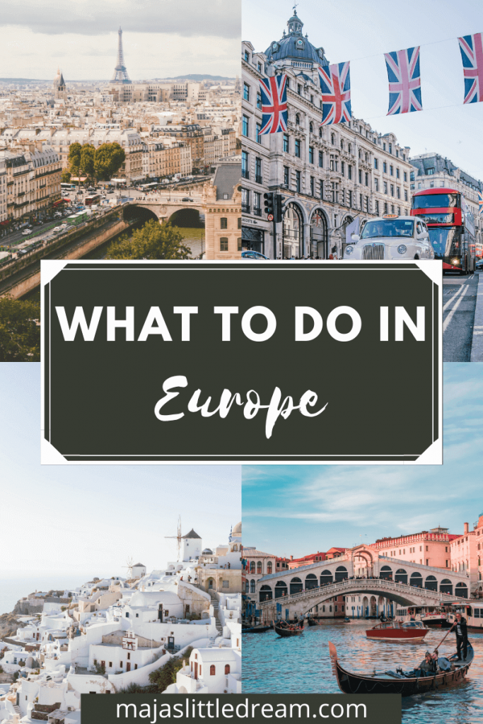 European Bucket List - All Countries