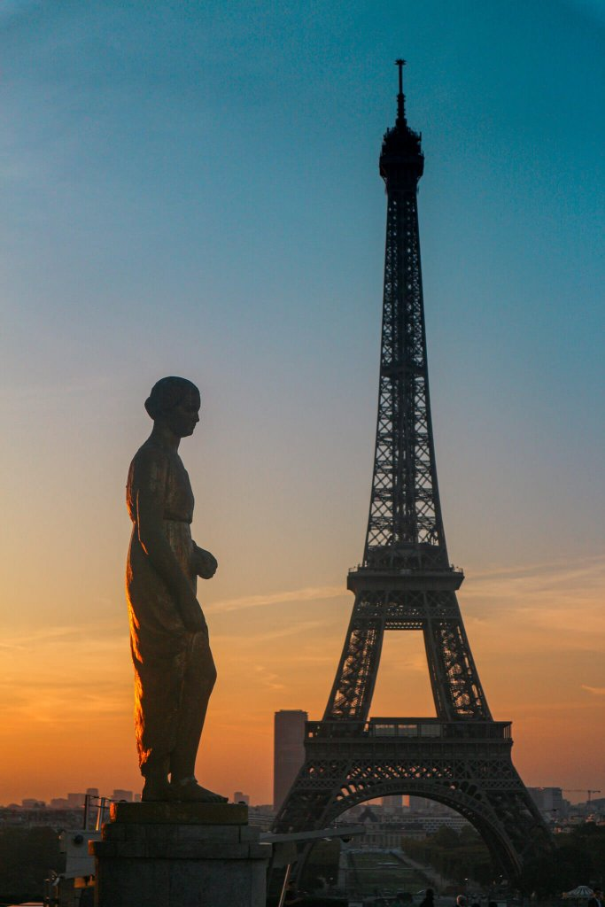 Eiffel Tower, Paris – the romance capital of the world