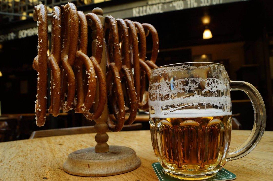 Beer und Brezel in Germany