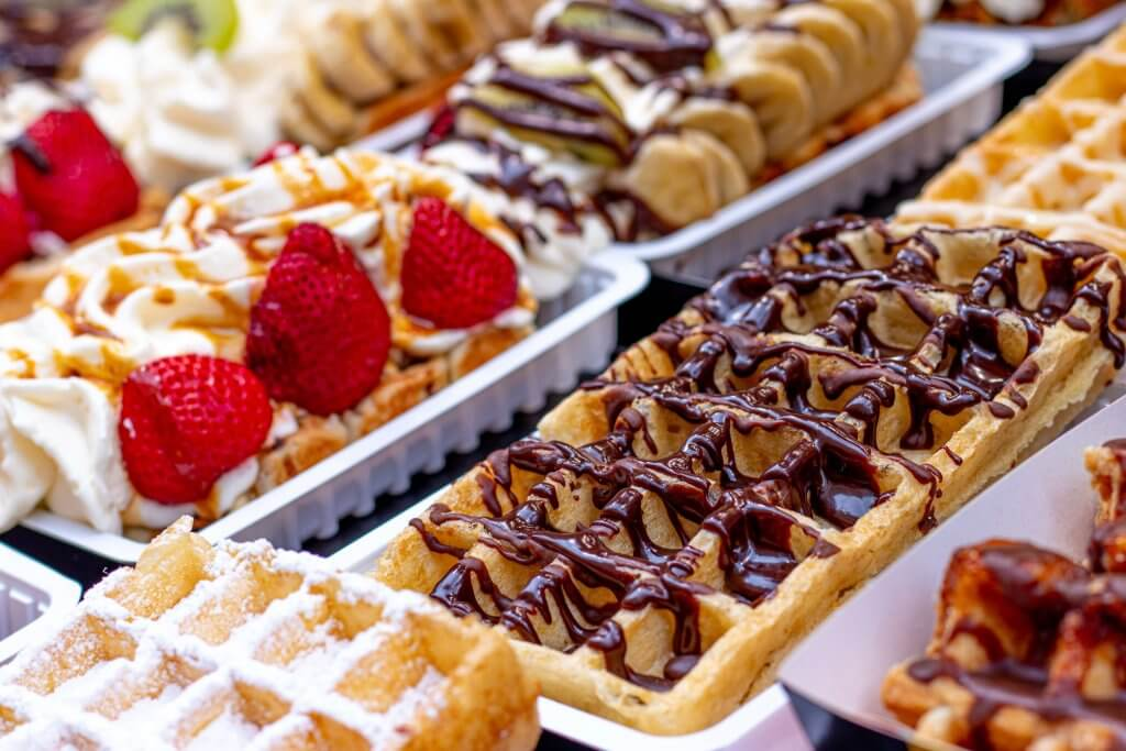 Waffles - Wine and Dine